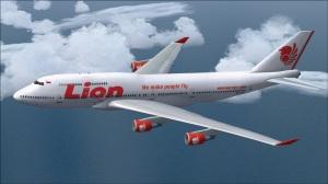 Gambar Pesawat Lion Air B 747 400